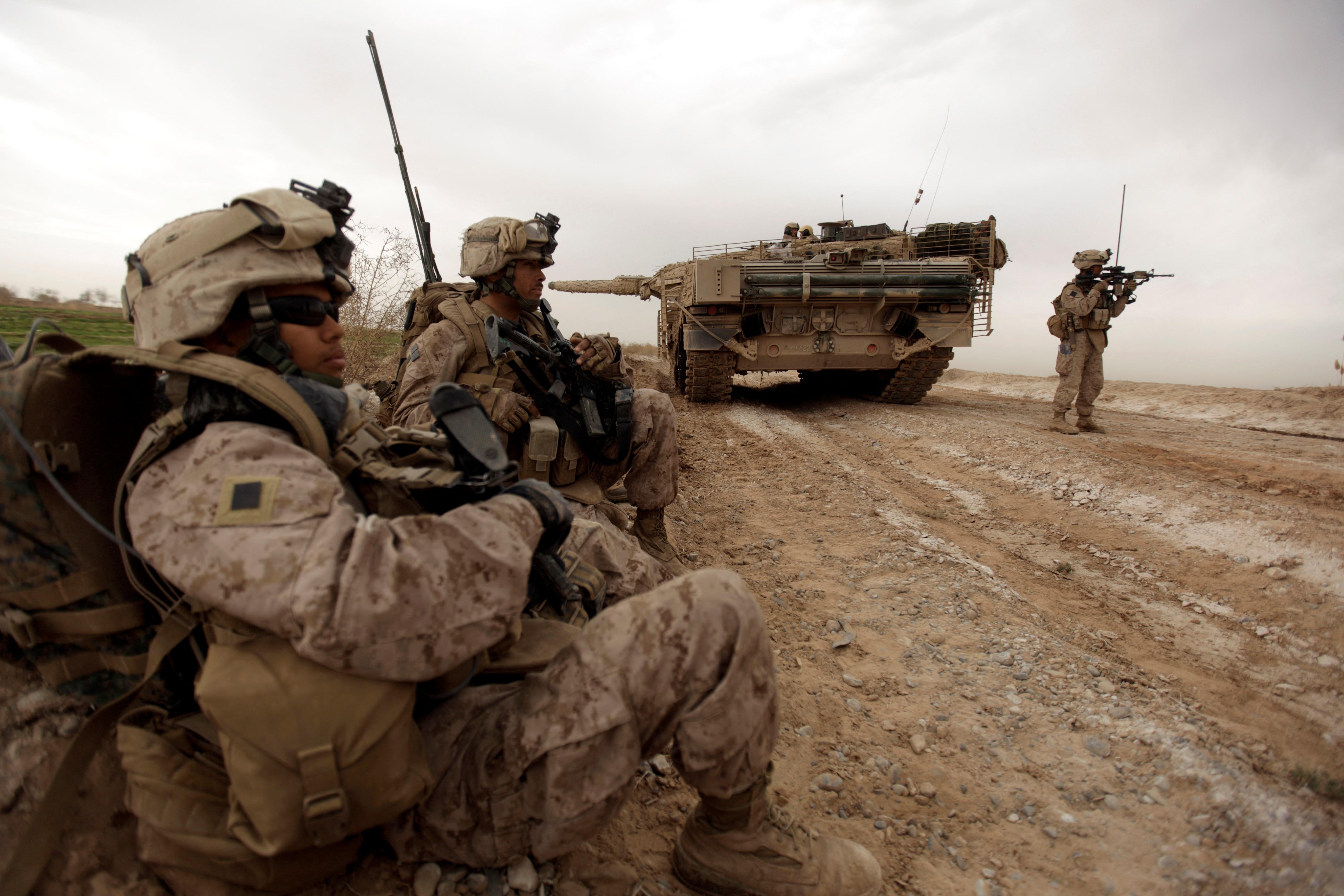 Tropas estadounidenses en Afganistán en 2010