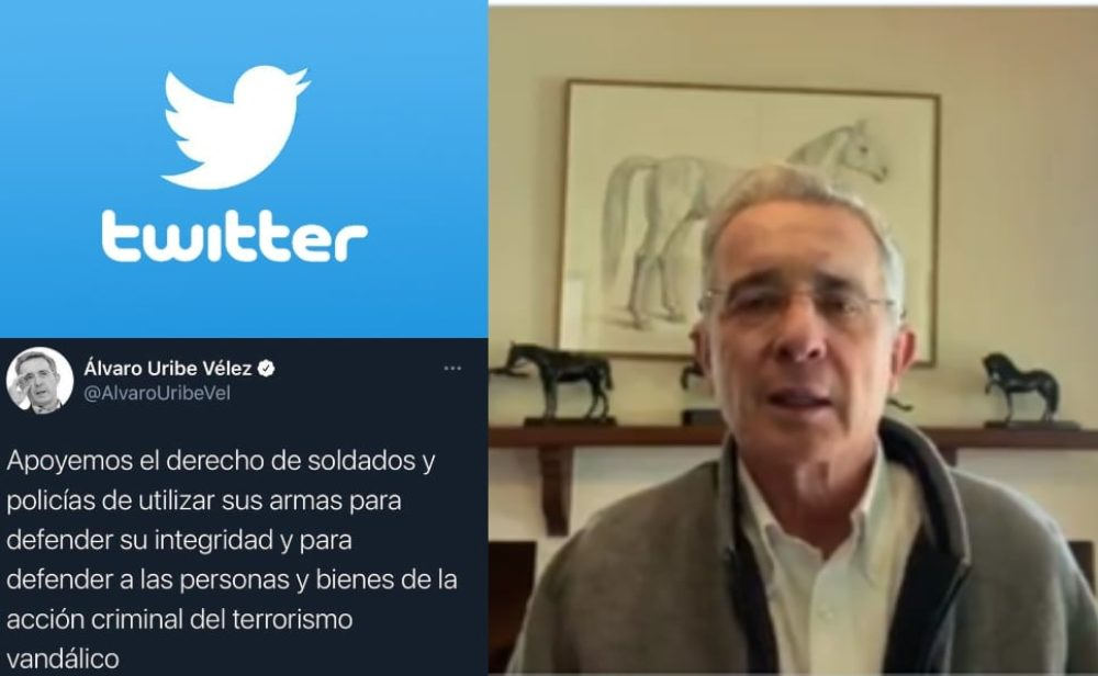 Uribe versus Twitter: un debate por la libertad de expresión