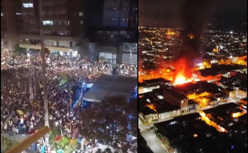 Caos en Popayán y 'carnaval' en Ibagué: 18 días de paro nacional