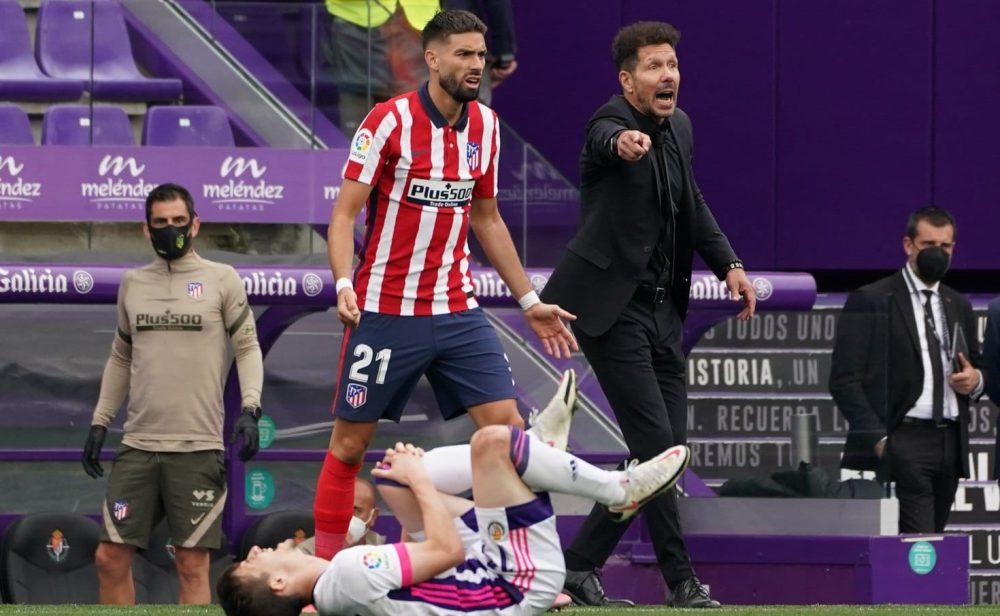 El sufrido campeonato de liga del Atlético de Madrid