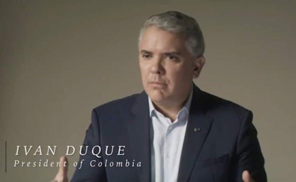 La entrevista 'yo con yo' de Duque en la que señala a Petro de avivar las protestas