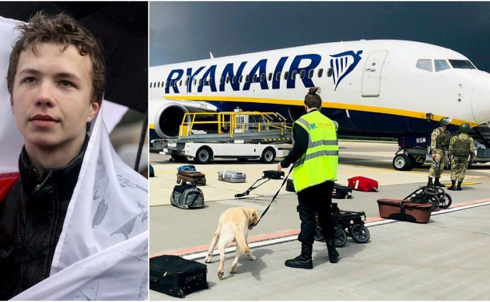 La novela del avión interceptado por Bielorrusia con un periodista opositor a bordo