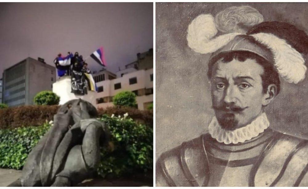 Gonzalo Jiménez de Quesada: la historia del conquistador tumbado de su pedestal