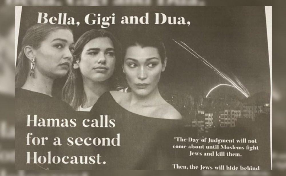 """El polémico anuncio en 'The New York Times' que denuncia un """"segundo Holocausto"""" promocionado por celebridades"""