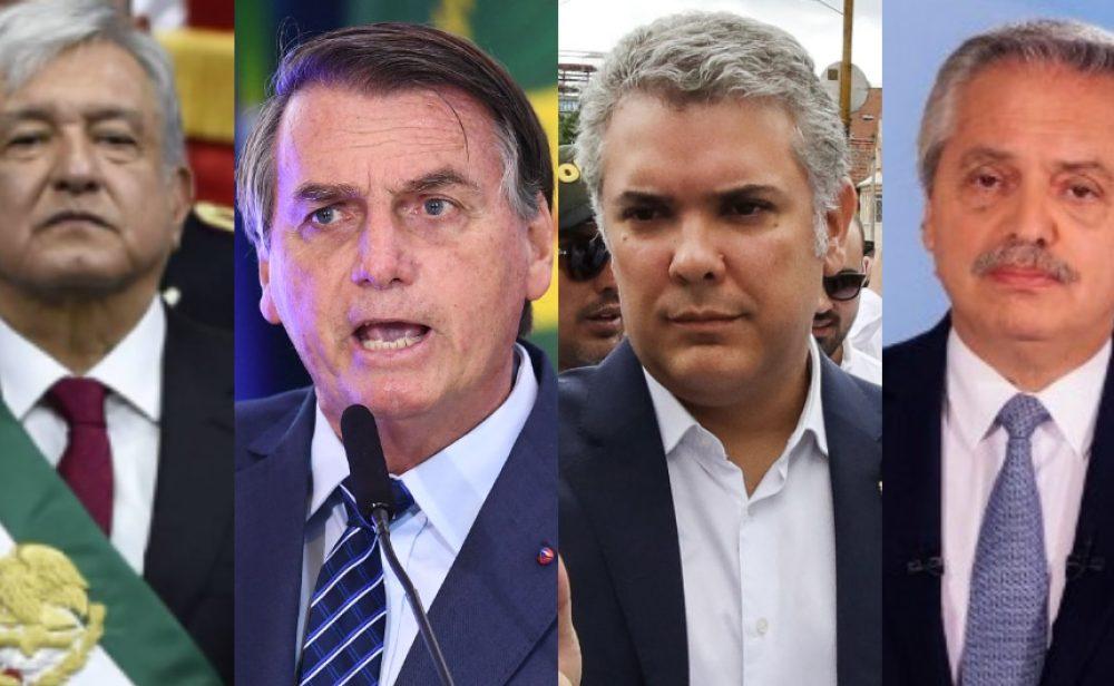 ¿Es Duque el presidente más impopular de América Latina?