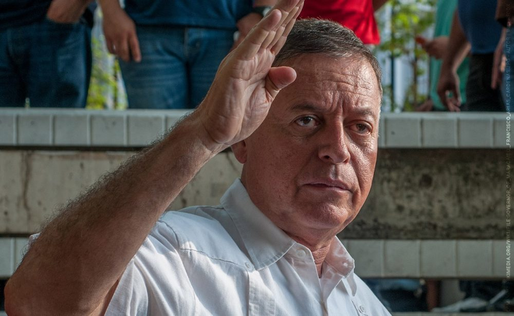 El incómodo embajador de Venezuela en México, por culpa del ELN.
