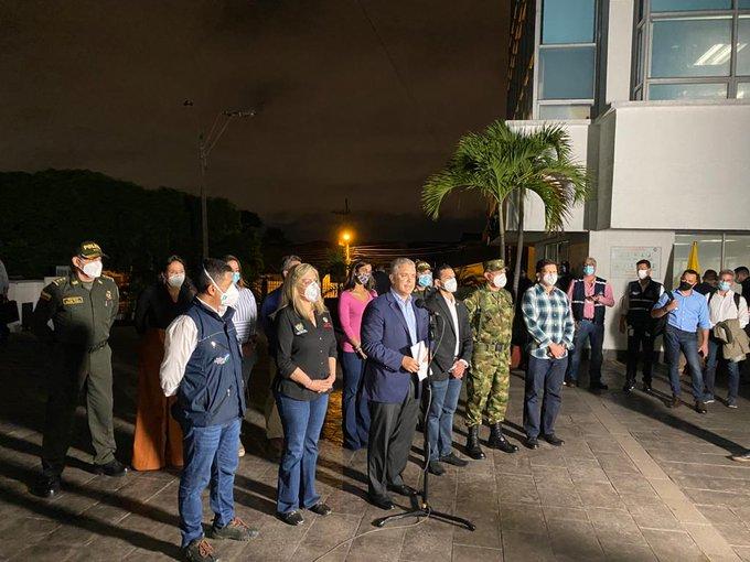 Gobierno ordena asistencia militar para Cali y otras ciudades del país. Foto: Fuerzas Militares de Colombia