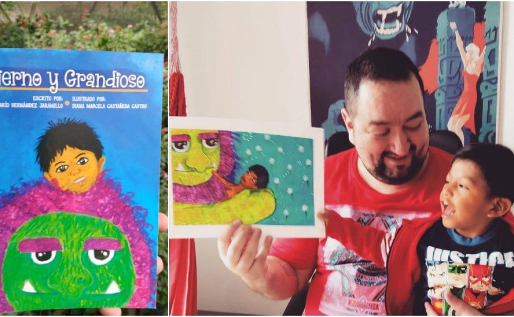 Rescató a un niño embera con microcefalia, y cuatro años después le dedica un libro lleno de fantasía y mucha esperanza