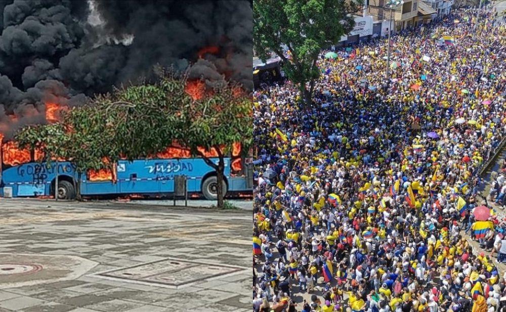 La guerra detrás de la desinformación en las redes sociales durante las protestas