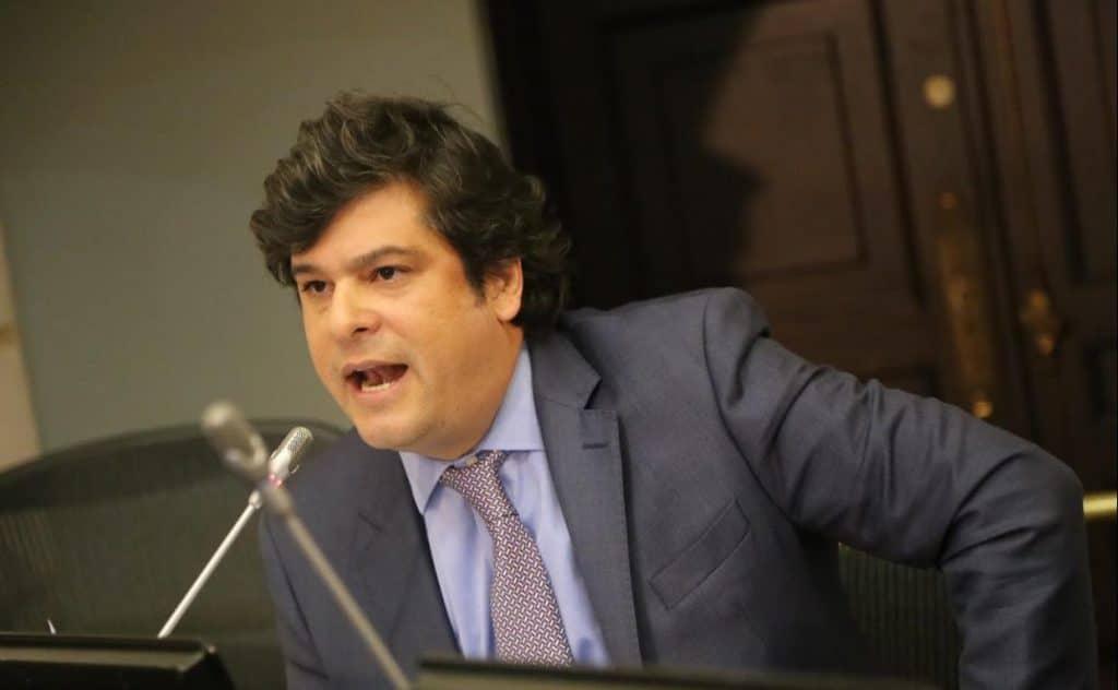 Gabriel Velasco, senador del Centro Democrático. Foto: Senado