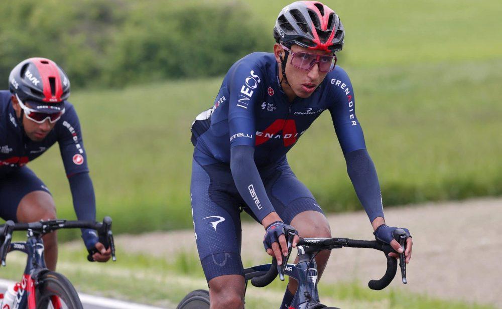 Egan Bernal, muy cerca del liderato del Giro. Ya es tercero de la general
