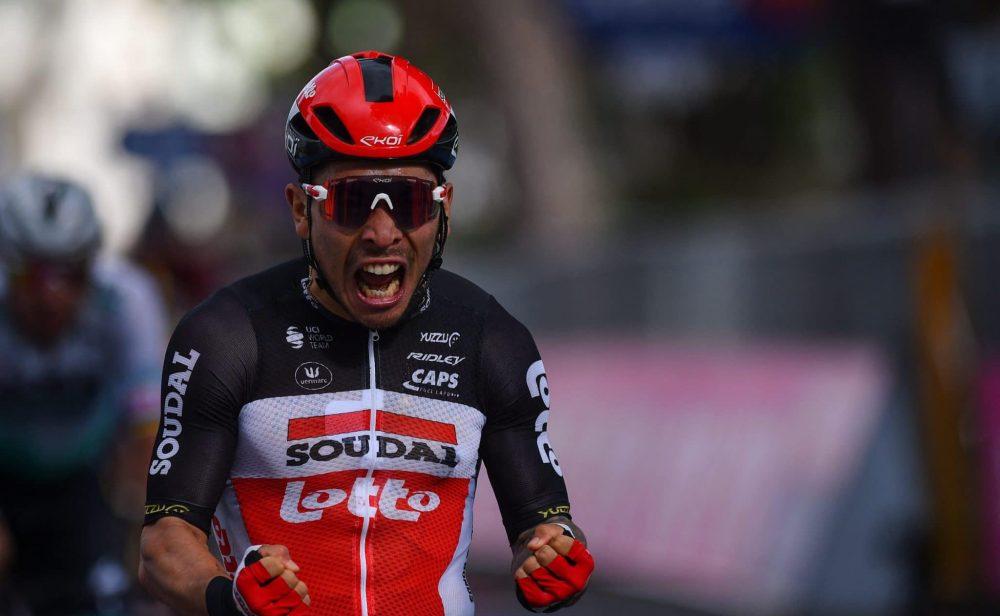 Caleb Ewan gana la etapa 7 del Giro de Italia