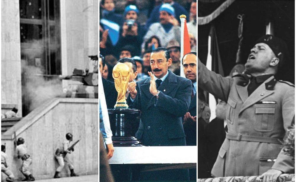 La pelota manchada: cuando políticos y dictadores usaron el fútbol a su favor
