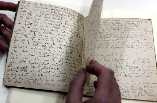 escritos y dibujos inéditos de Franz Kafka