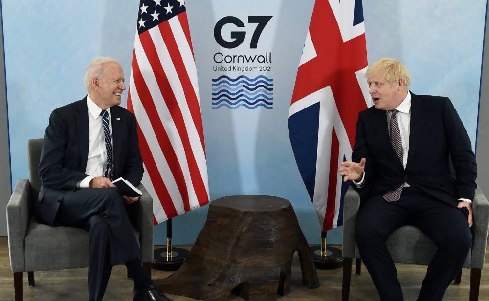 El linaje irlandés de Biden aparece como una sombra al comienzo de su gira europea