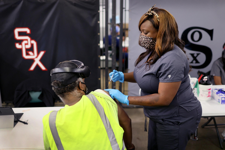 La vacunación en el sur de Estados Unidos está tardando más de lo esperado. Foto: Scott Olson / AFP