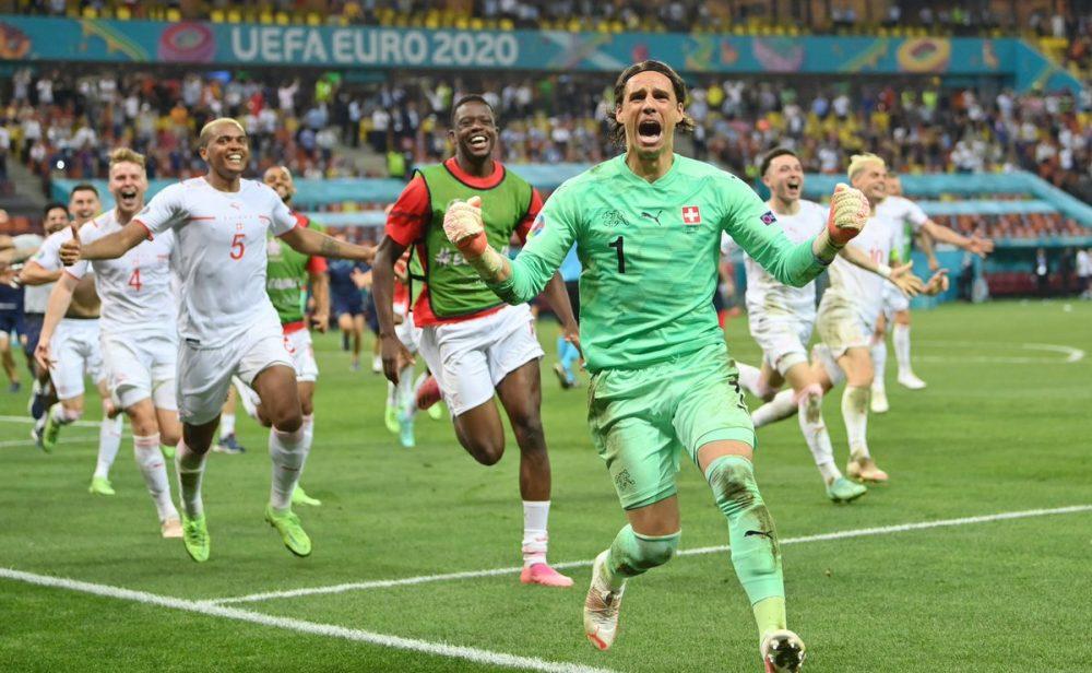 Luego de dos partidazos, España y Suiza clasifican a cuartos de final en la Euro