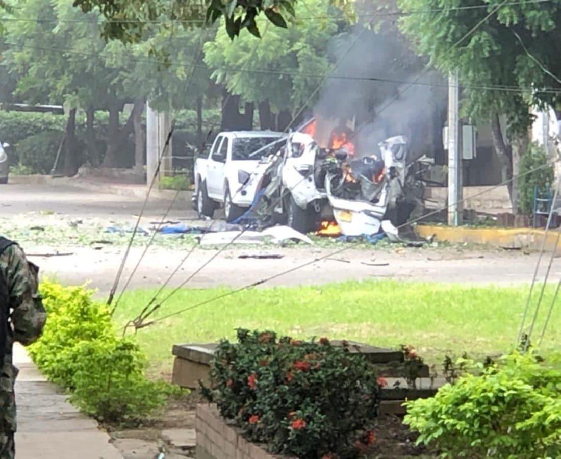 Carro bomba Brigada 30 del Ejército Nacional, en Cúcuta
