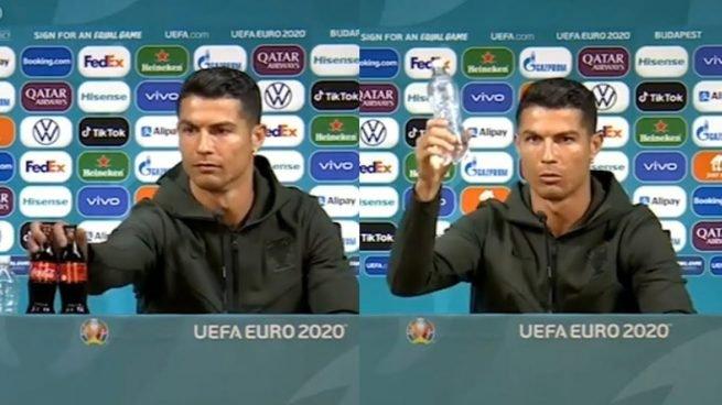 Cristiano Ronaldo y Coca-Cola, qué fue lo que pasó