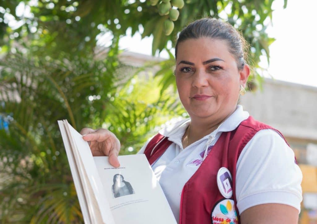 Derly Pastrana Yara también es consejera departamental de mujeres en Huila. Foto: Centro Nacional de Memoria Histórica