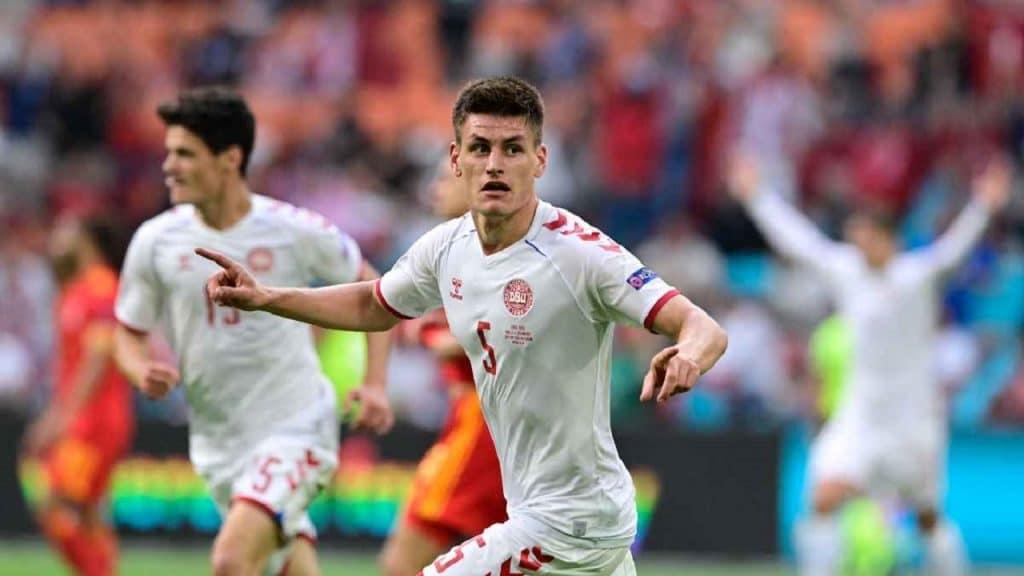 Dinamarca goleó 4-0 a Gales en octavos de la Eurocopa