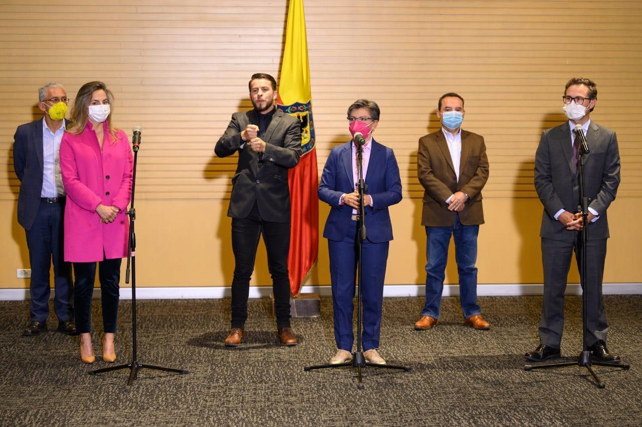 Claudia López, alcaldesa de Bogotá, anuncia reapertura de la economía desde el 8 de julio