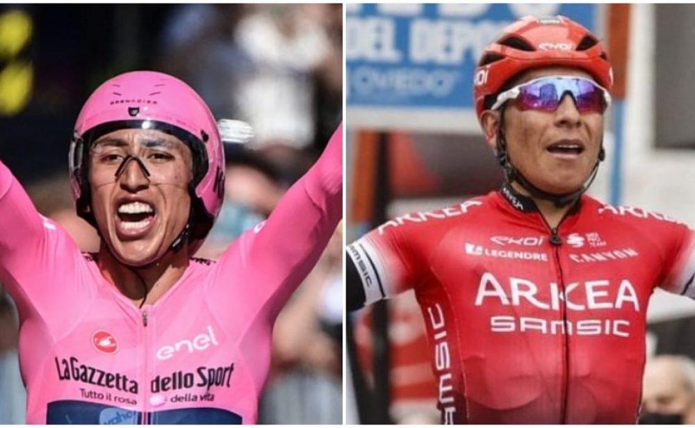 Egan y Nairo, entre los mejores ciclistas del siglo XXI