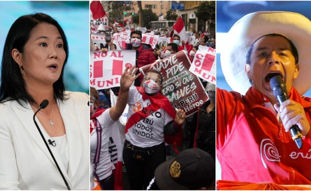 Voto finish en Perú. Castillo más cerca del Palacio de Gobierno