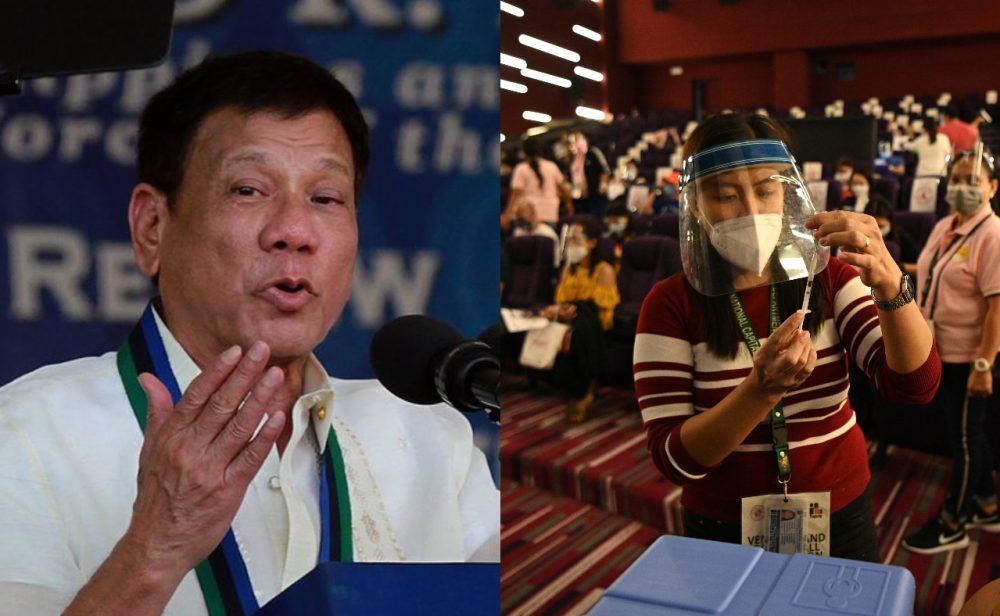 Cárcel por no ponerse bien el tapabocas o no vacunarse: la política del terror del presidente de Filipinas