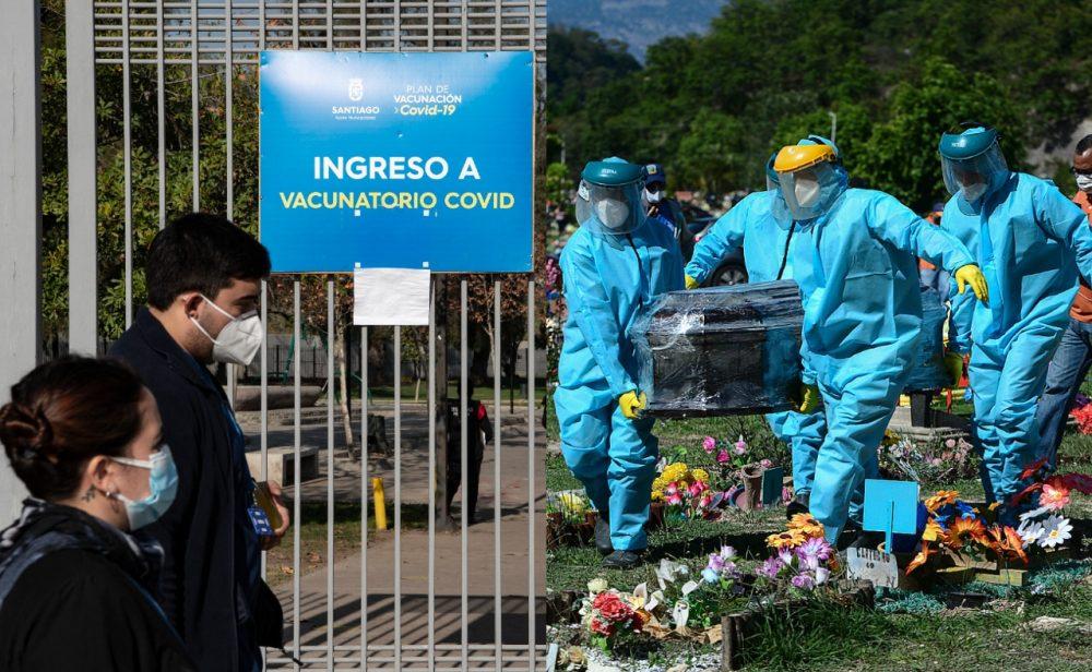 No da tregua: cinco cifras que reflejan el trágico avance de la pandemia en América Latina