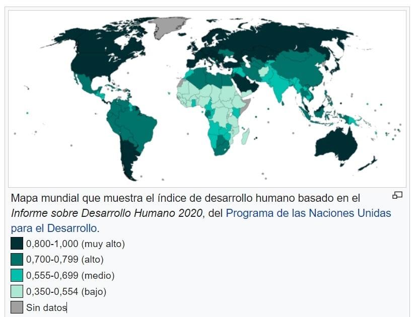 Informe de Desarrollo Humano 2020