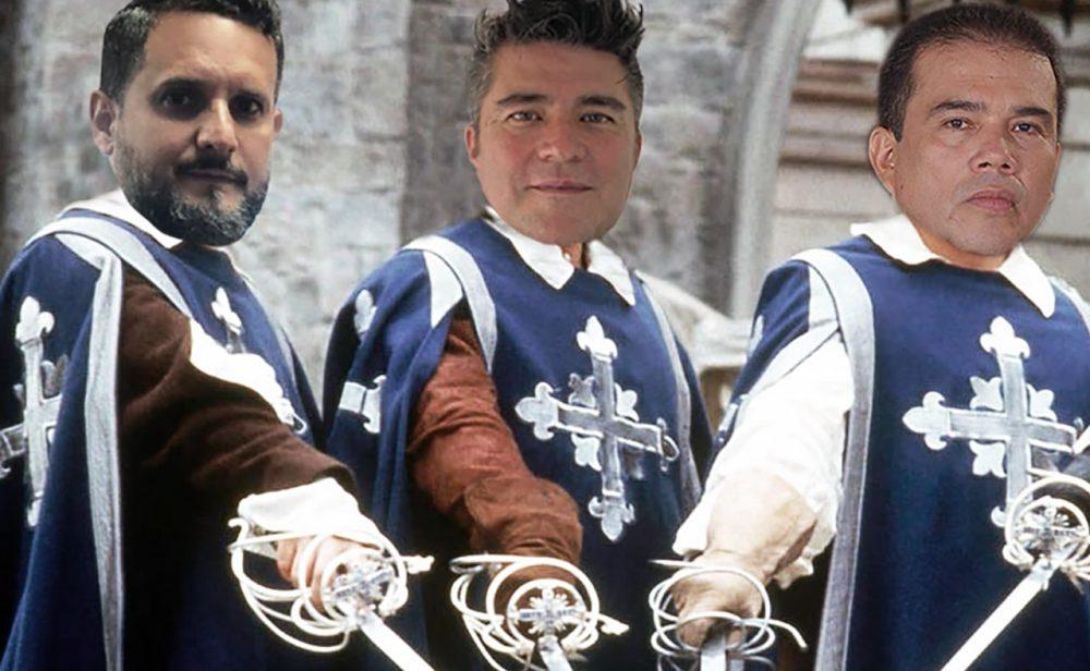 Los 'tres mosqueteros' que defienden gratis a los detenidos en el paro