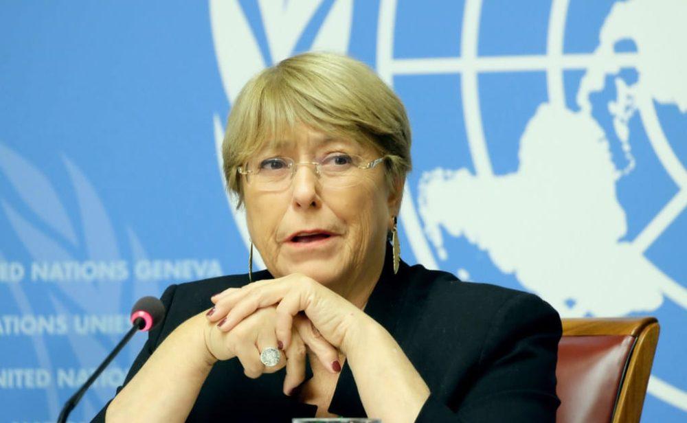 """Michelle Bachelet expresa """"grave preocupación"""" por represión en Colombia"""