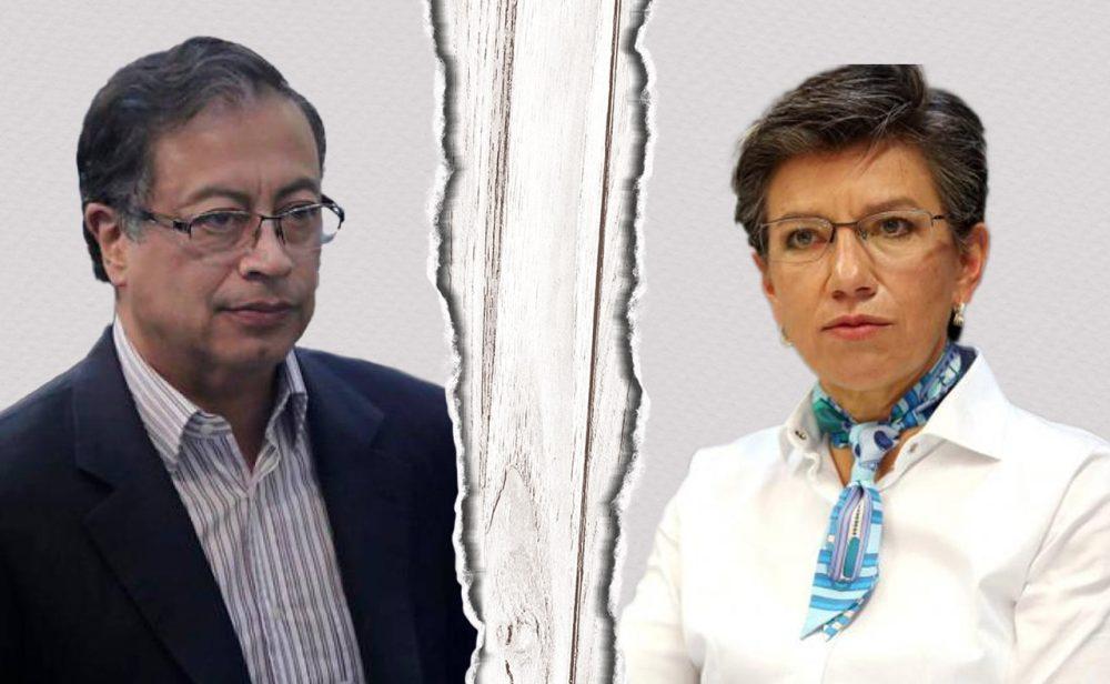 Claudia López y Petro: la historia secreta de su ruptura política