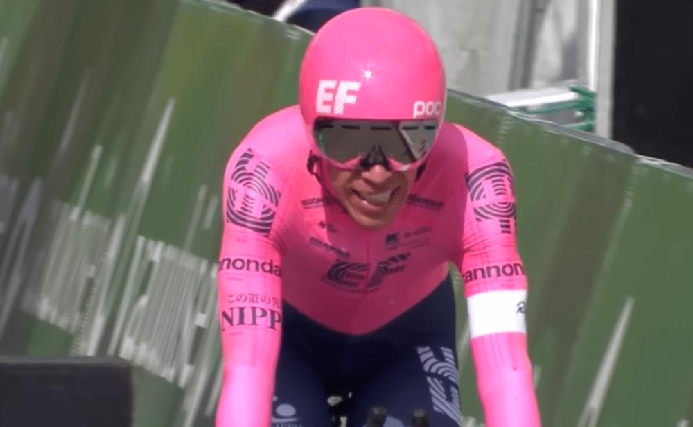 Rigoberto Urán, segundo en la general de la Vuelta a Suiza. Carapaz, campeón
