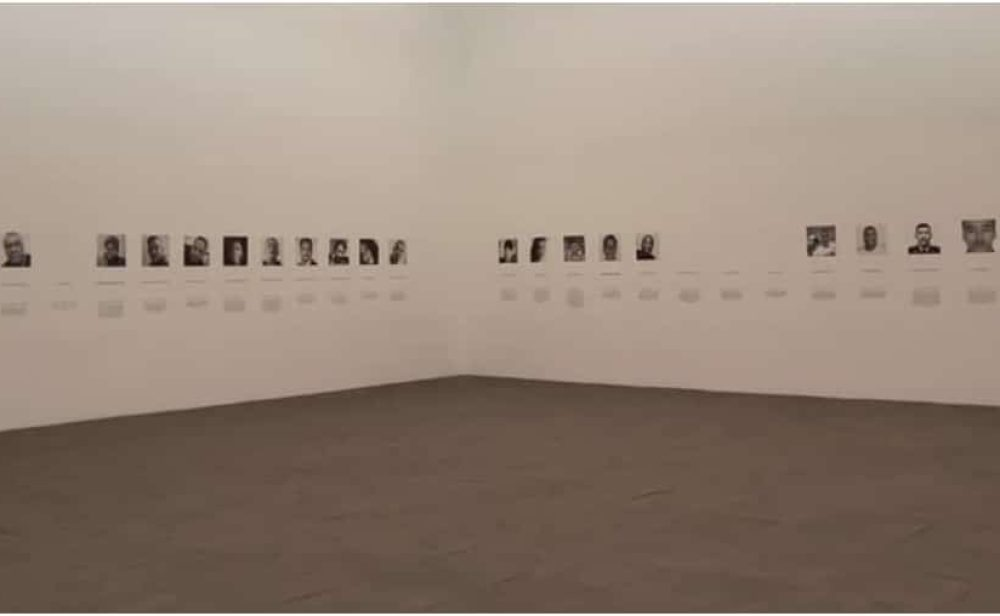 El homenaje de la artista Doris Salcedo a las personas asesinadas en medio del paro