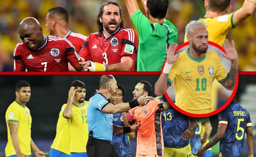 Del gol de Yepes al gol de Pitana: siete años de rivalidad a muerte entre Colombia y Brasil