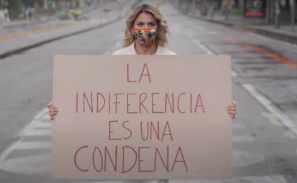 El conmovedor homenaje de Adriana Lucía a los jóvenes que han salido a protestar