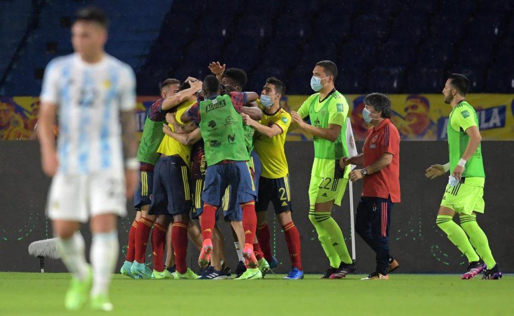 Empate agónico de Colombia
