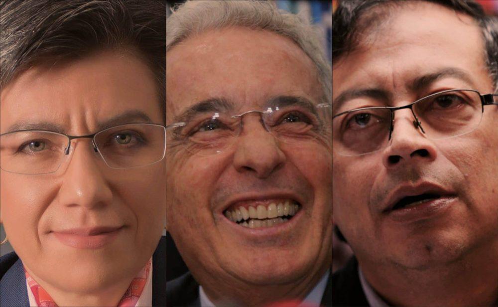 Uribe, el nuevo actor en la pelea Claudia López vs. Petro