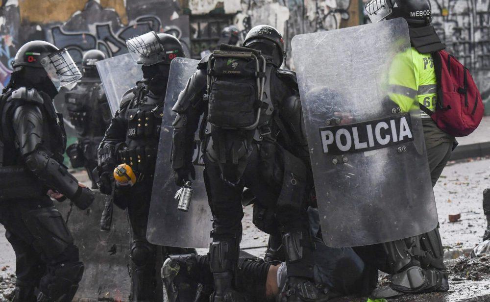 Más de 300 oenegés le piden a la ONU condenar la 'brutal represión' de manifestantes en Colombia