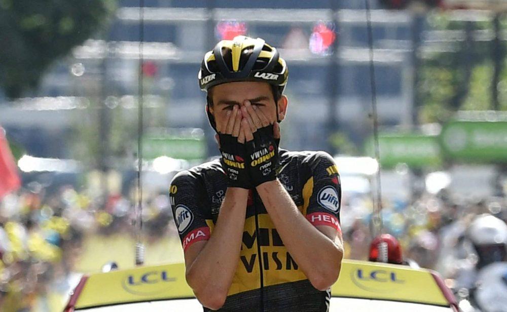 Sepp Kuss ganó la etapa, Pogacar sigue líder y Rigo recuperó el segundo puesto