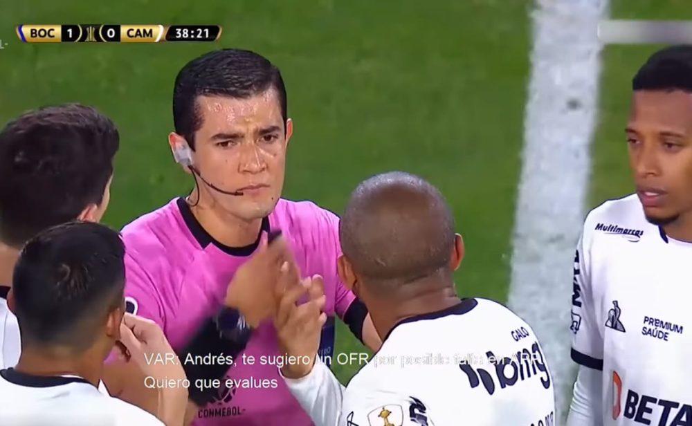 Los insólitos errores que les costaron la suspensión de Copa Libertadores al colombiano Andrés Rojas y a otros árbitros