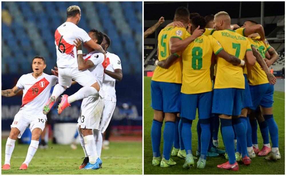 Brasil vs. Perú: la primera semifinal de la Copa América