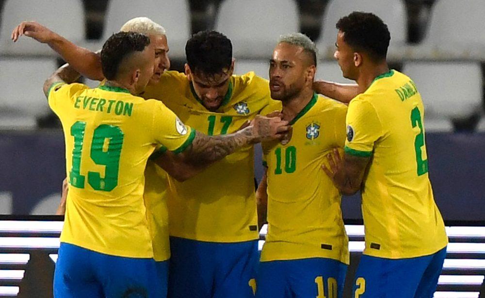 Brasil ya es finalista y espera rival