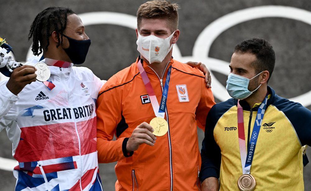 Carlos Ramírez consigue el bronce en BMX y Colombia suma otra medalla