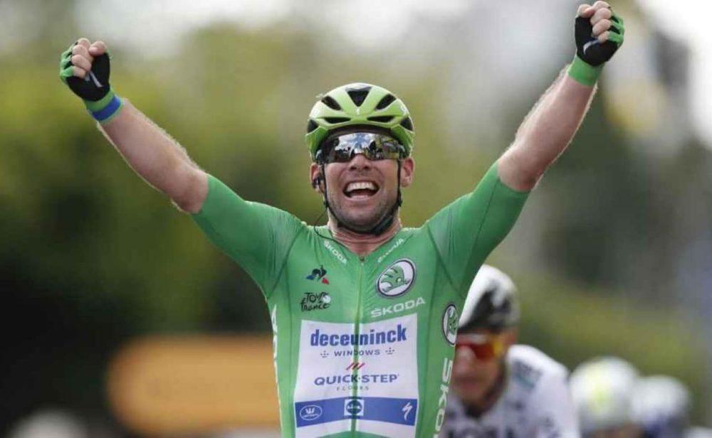 A dos del récord: Cavendish ganó otra etapa del Tour de Francia