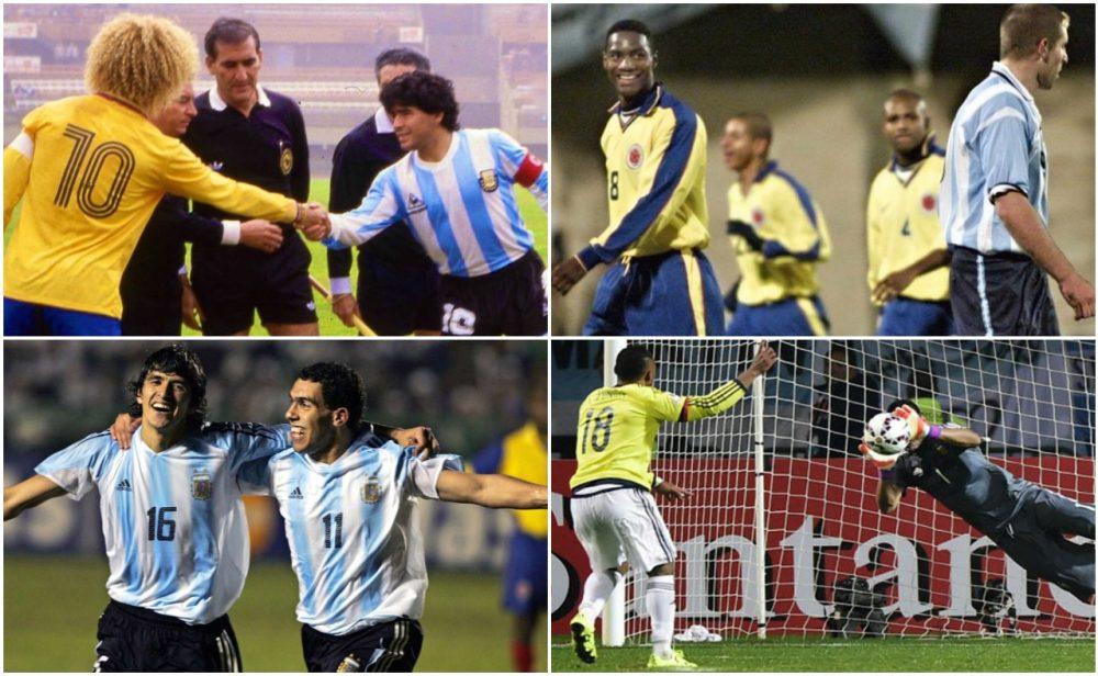 Colombia vs Argentina: seis enfrentamientos inolvidables por Copa América