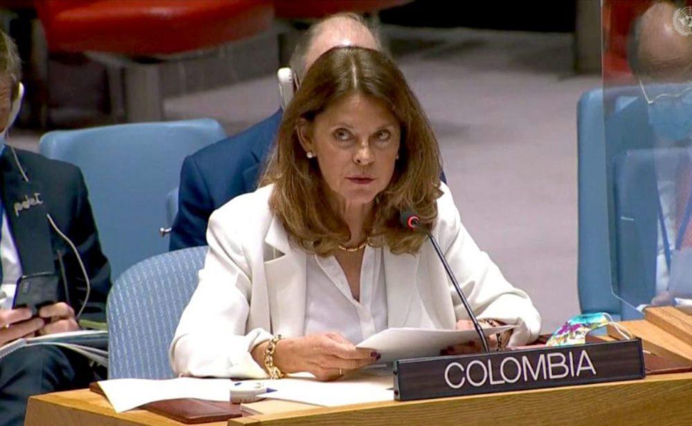 Las afirmaciones más cuestionadas de la intervención de Marta Lucía Ramírez en la ONU