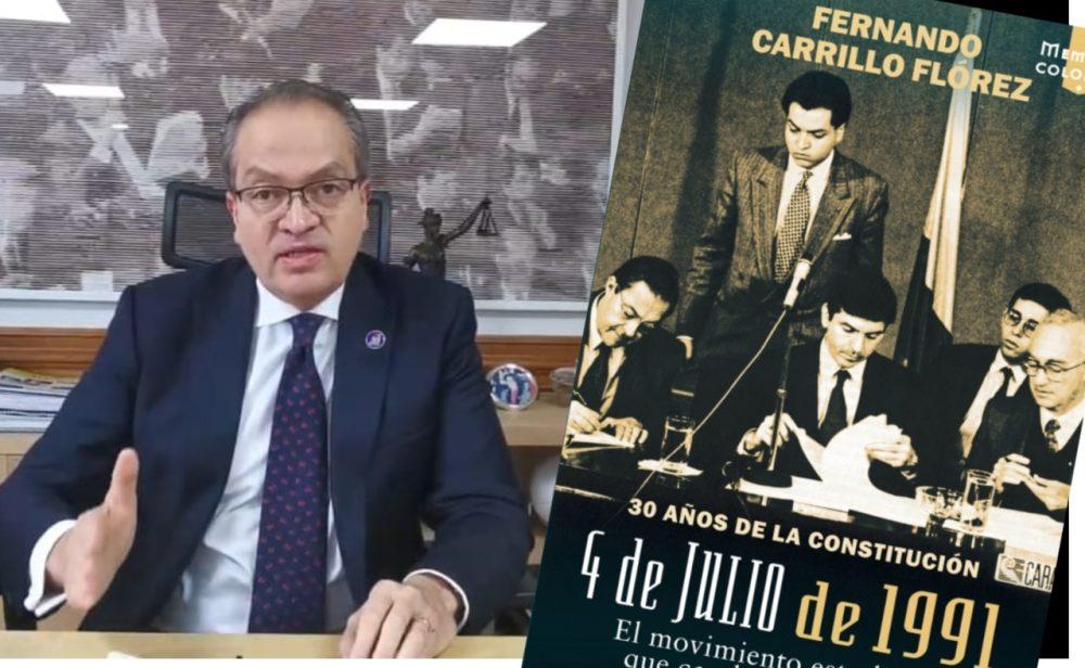"""""""Nunca hubo voluntad de las Farc para meterse a la constituyente de 1991"""": Carrillo"""